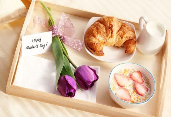 10 ideas de desayuno en la cama para sorprender a mamá - dia-de-las-madres