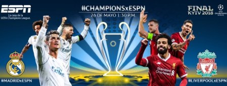 Final de Champions 2018: Real Madrid vs Liverpool por ESPN