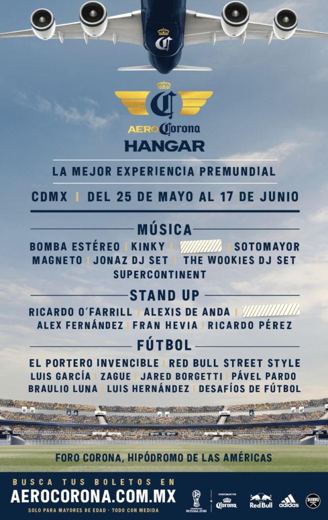 Hangar AeroCorona estará en la Ciudad de México - hangar-corona