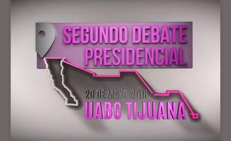 A qué hora es el segundo debate presidencial 2018 y dónde verlo