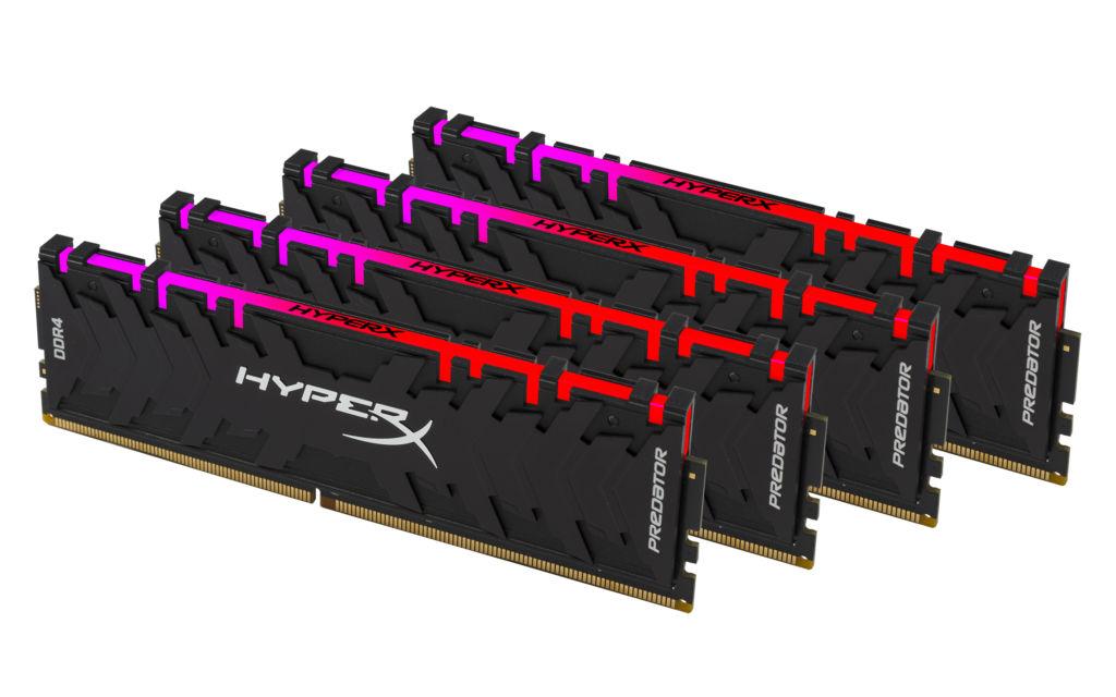 hyperx predator ddr4 rgb Nueva Predator DDR4 RGB HyperX con tecnología de sincronización infrarroja