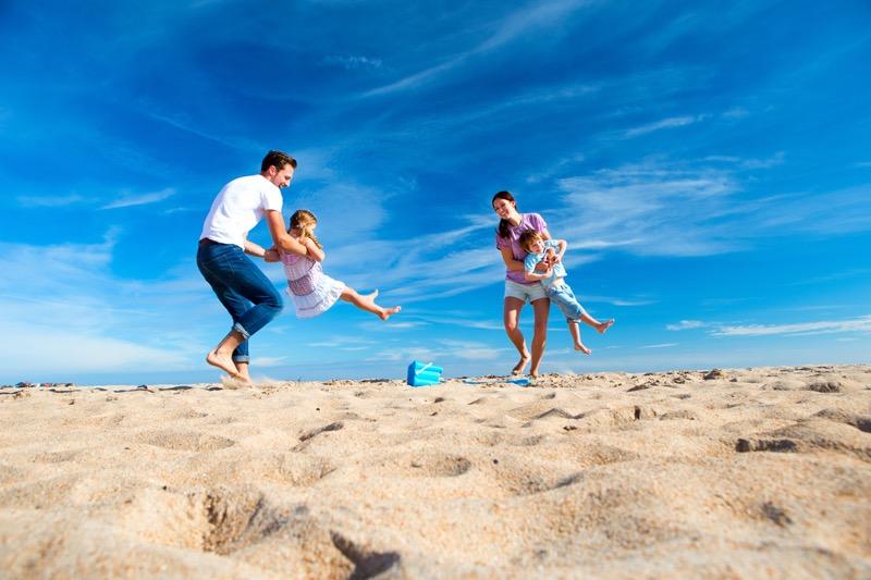 imagen de la familia Estudio revela que los viajeros mexicanos son una de las 5 nacionalidades que más disfrutan viajar en familia