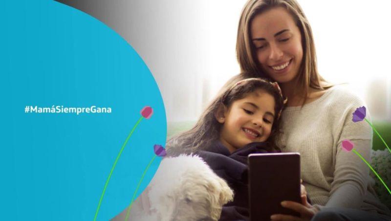 Promociones de Movistar para el día de las madres 2018 - mama-siempre-gana