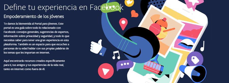 portal para jovenes de facebook Facebook presenta portal para jóvenes