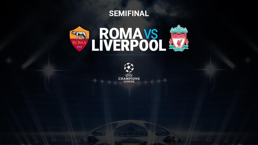 Roma vs Liverpool, Champions League 2018 ¡En vivo por internet! | vuelta - roma-vs-liverpool-champions-2018-vuelta-internet