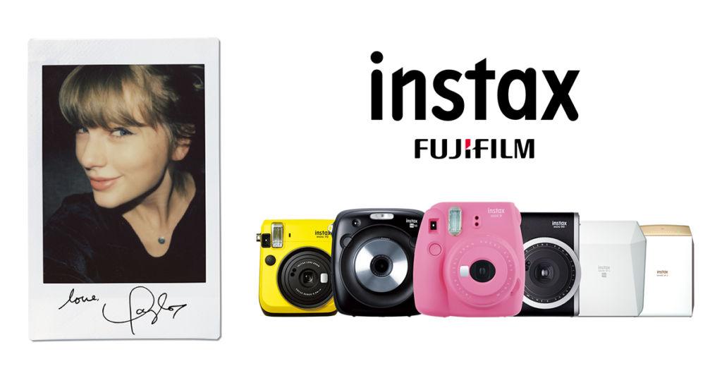 Taylor Swift se une en alianza global a instax de Fujifilm - taylorswift_instax_02