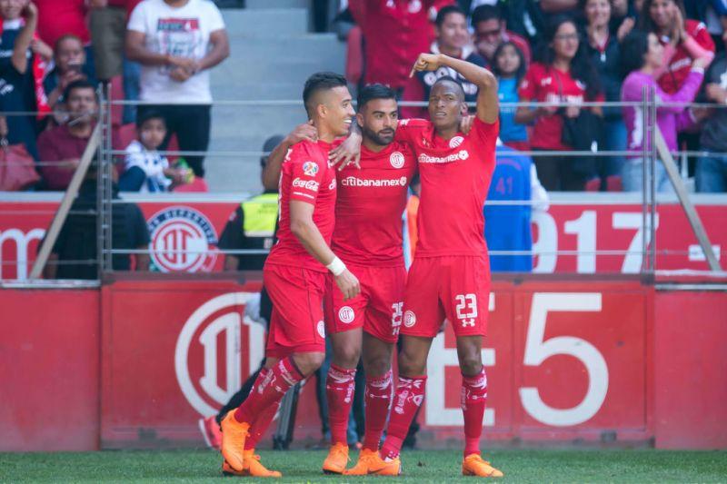 ¡EN VIVO! Morelia vs Toluca, cuartos de final de la Liga MX Clausura 2018 - toluca-liguilla-clausura-2018-liga-mx-mex-800x533