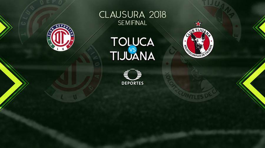Toluca vs Tijuana, Semifinal del C2018 ¡En vivo por internet! - toluca-vs-xolos-semifinal-clausura-2018