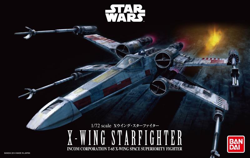 Bandai Hobby de Star Wars, nueva línea de juguetes para armar ¡llega a México! - x-wing-starfighter-star-wars-originals_2018