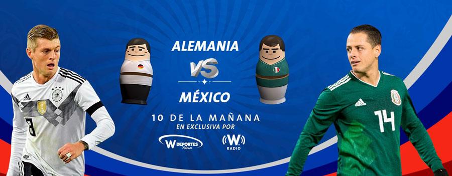 Partido México vs Alemania en el Mundial 2018 ¡En vivo por internet! - alemania-vs-mexico-por-radio-mundial-2018