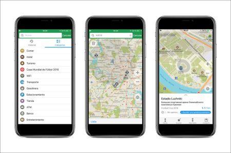 La app de Maps.me añade rutas por las ciudades de Mundial de Rusia 2018