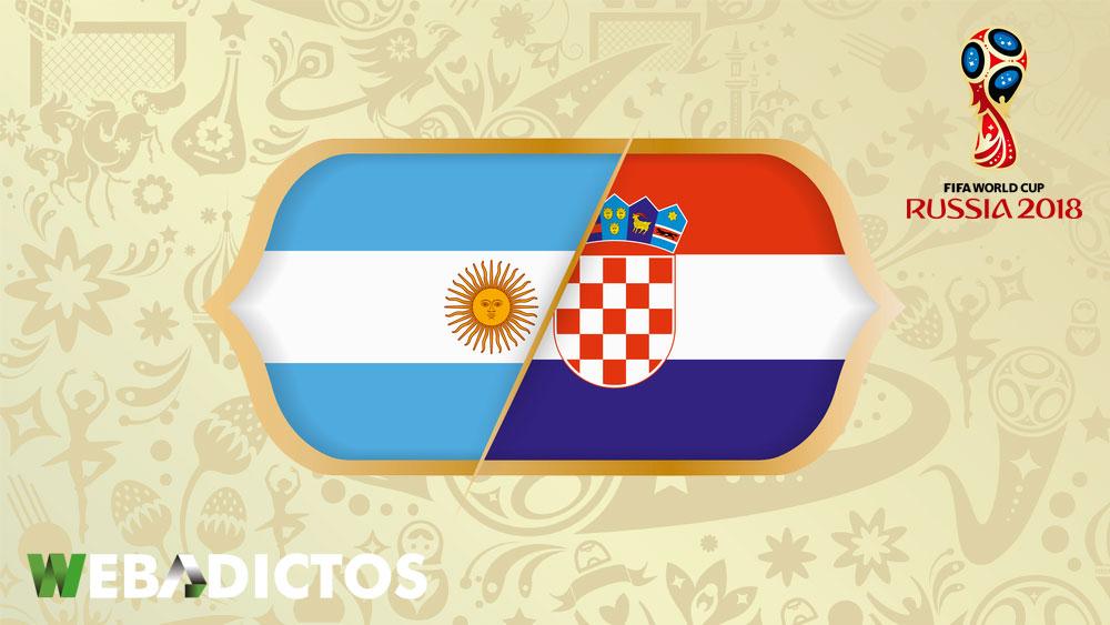 Argentina vs Croacia, Mundial 2018 ¡En vivo por internet! | Grupo D - argentina-vs-croacia-mundial-2018