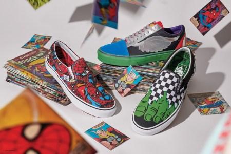 Colección Vans x Marvel: calzado, ropa y accesorios de los personajes icónicos del Universo Marvel
