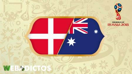 Dinamarca vs Australia, Mundial Rusia 2018 ¡En vivo por internet!