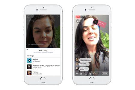 Facebook presenta Lip Sync Live: interpreta y comparte canciones en vivo