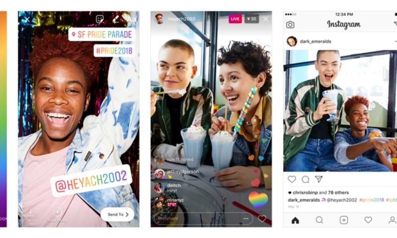 Instagram lanza una versión del Arcoíris para celebra el Día del Orgullo LGBTQ+ - instagram-celebra-el-dia-del-orgullo-lgbtq-800x480