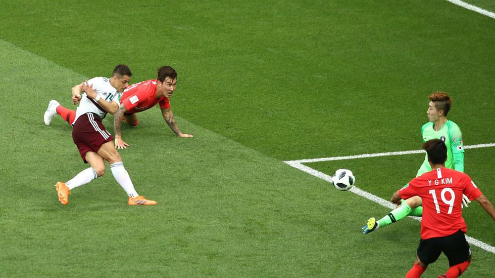 Javier Hernández fue elegido como el mejor jugador del partido México vs Corea - javier-hernandez-hombre-del-partido-mexico-vs-corea