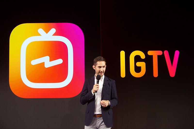 Instagram presenta nueva aplicación IGTV y ya alcanzó los mil millones de usuarios - kevin-systrom_igtv-800x533