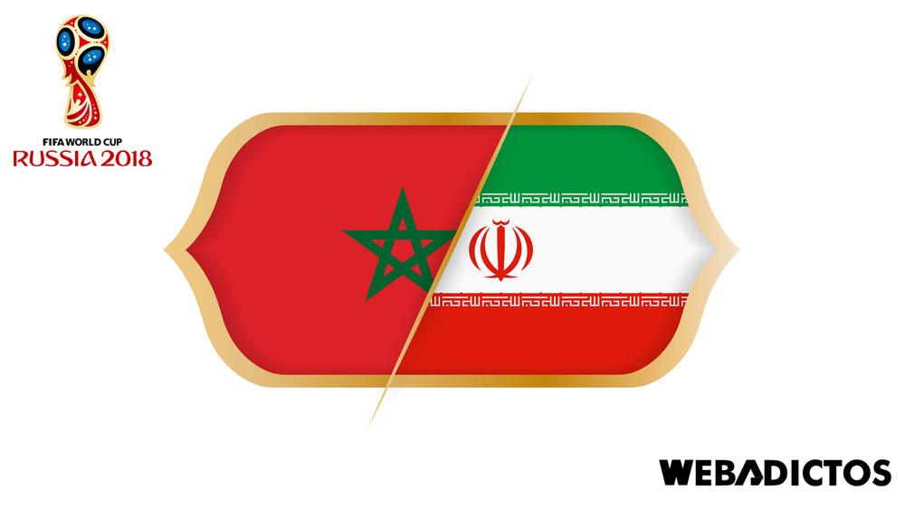 Marruecos vs Irán, Grupo B del Mundial 2018 ¡En vivo por internet! - marruecos-vs-iran-mundial-2018