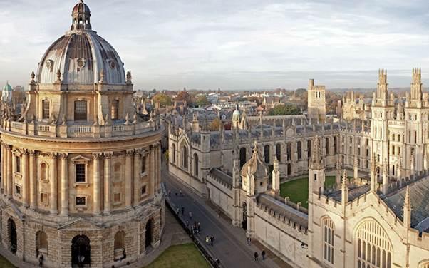 5 ciudades europeas con el mejor ambiente universitario - oxford