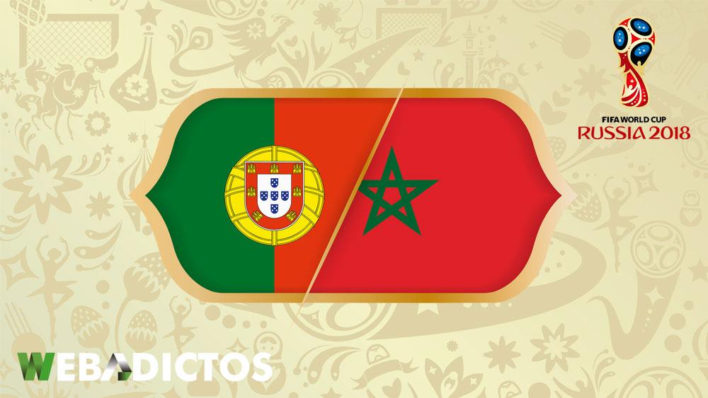 Portugal vs Marruecos, Mundial Rusia 2018 ¡En vivo por internet! - portugal-vs-marruecos-mundial-2018