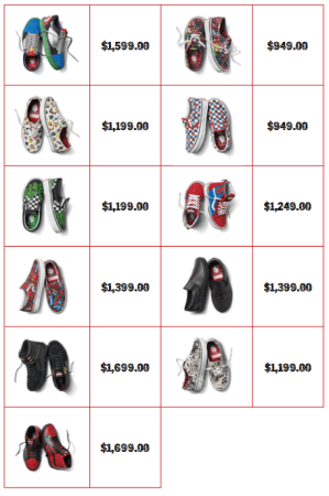 Colección Vans x Marvel: calzado, ropa y accesorios de los personajes icónicos del Universo Marvel - precios_marvel