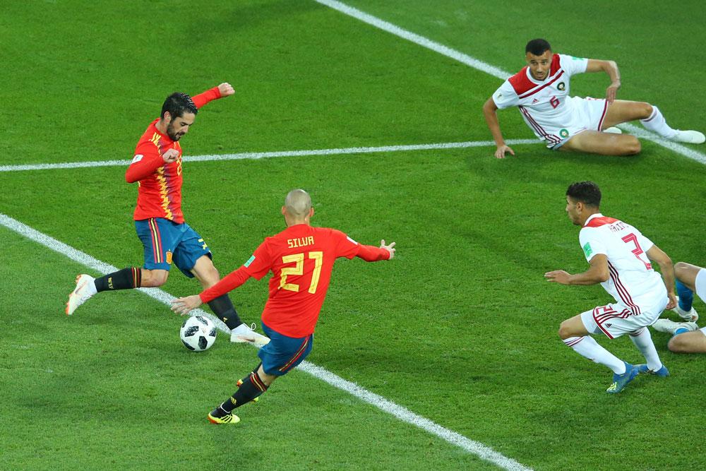 Ve la repetición de España vs Marruecos en el Mundial 2018 ¡Completo! - repeticion-partido-completo-espana-vs-marruecos