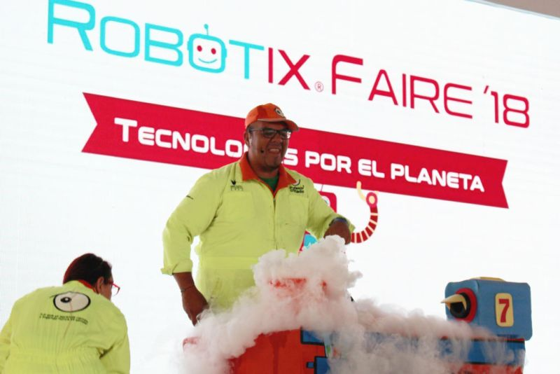Se realiza con éxito la 12ª edición de RobotiX Faire, Feria de Robótica para niños - robotix-faire_2018-800x534