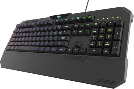 ASUS anuncia nuevos productos de la Familia TUF Gaming - teclado-tuf-gaming-k5-450x301