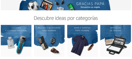 Amazon lanza tienda especial del Día del Padre