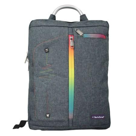 TechZone lanza backpacks especiales para celebra el mes del orgullo - tzlbp01gr-pride