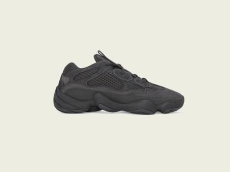 adidas + KANYE WEST anuncian la YEEZY 500 Utility Black