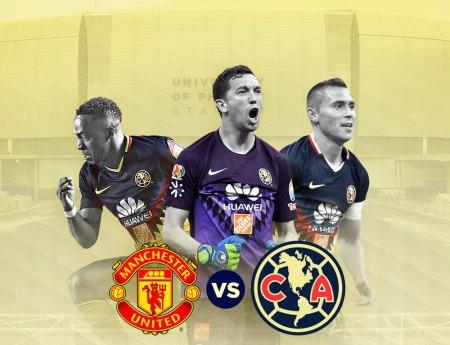 América vs Manchester United, Amistoso 2018 ¡En vivo por internet!