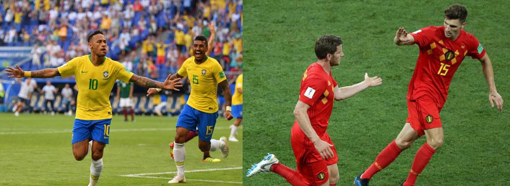Brasil vs Bélgica, Cuartos de Final Rusia 2018 ¡En vivo por internet! - brasil-vs-belgica-mundial-2018