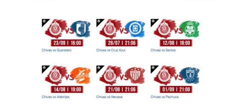 Cinépolis transmitirá los partidos del Club Chivas - chivas-800x354