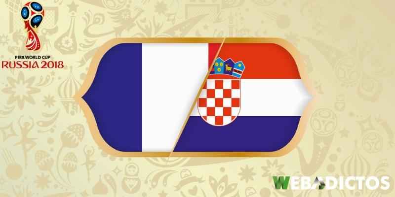 Francia vs Croacia, Final del Mundial Rusia 2018 ¡En vivo por internet! - francia-vs-croacia-final-mundial-2018