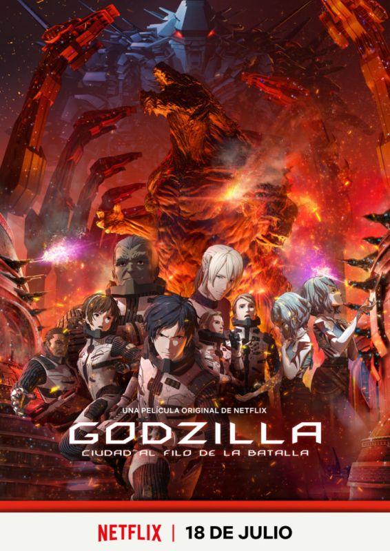 Netflix anuncian las fechas de estreno de las nuevas series ANIME - godzilla-planet-of-the-monsters-566x800
