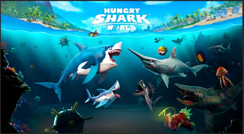 Hungry Shark World para Xbox One, PS4 y Nintendo Switch ¡ya disponible! - hswc_key_art_1531268154