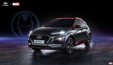 Hyundai presenta una edición especial de la Kona Iron Man, en el Comic-Con