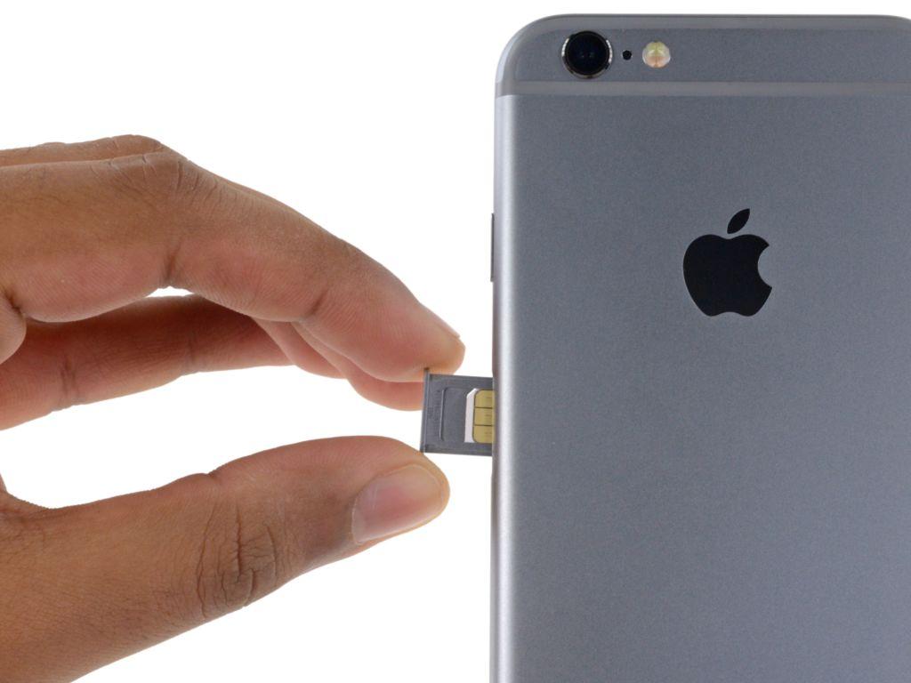 Los iPhone 2018 tendrían soporte para dos tarjetas SIM - iphone-6s-sim-tray-ifixit