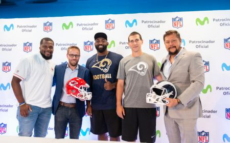 Movistar acerca la NFL a los fans de México