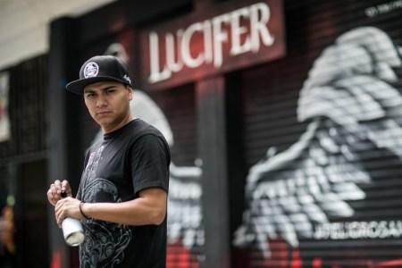 Estreno de la tercera temporada de LUCIFER por Universal Channel - mural-hidroc-lucifer-universal-channel