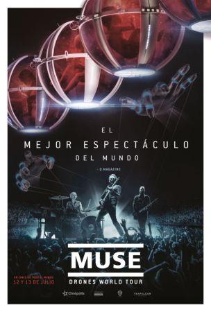 Muse: Drones World Tour en exclusiva en Cinépolis