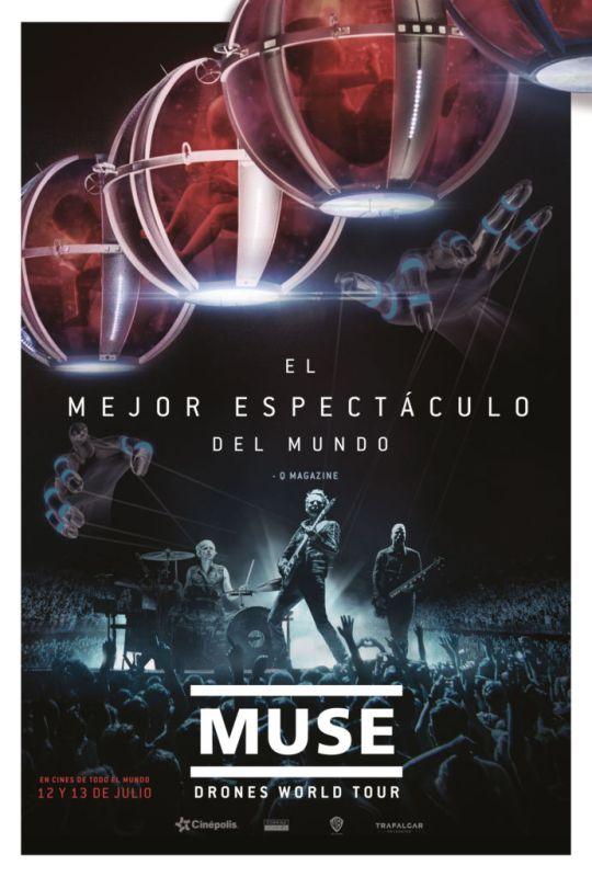 Muse: Drones World Tour en exclusiva en Cinépolis - muse-cinepolis-540x800