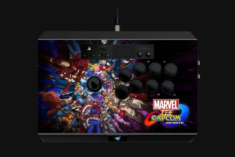 """Razer anuncia """"Marvel vs. Capcom: Infinite"""" para PlayStation 4 - panthera-arcade-stick-de-razer-800x534"""