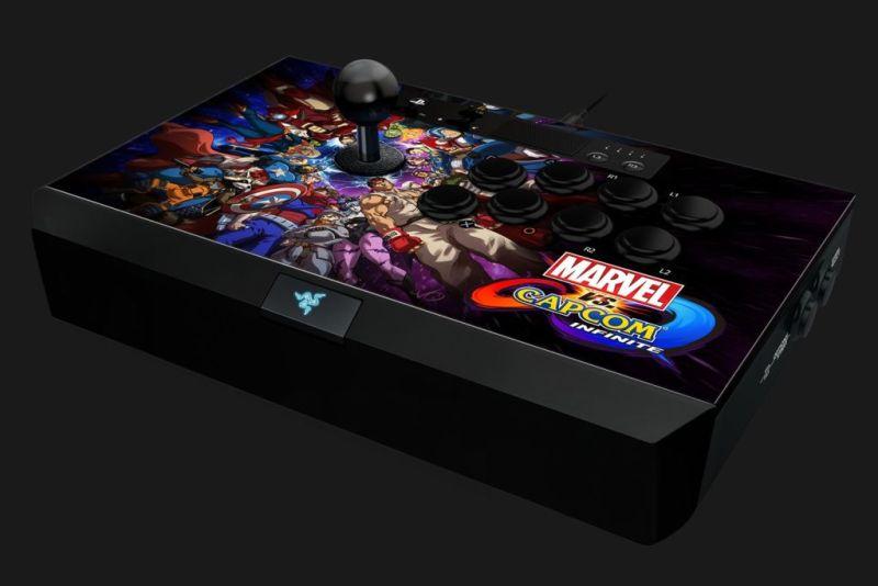 """Razer anuncia """"Marvel vs. Capcom: Infinite"""" para PlayStation 4 - panthera-arcade-stick-de-razer_4-800x534"""