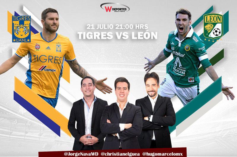 Tigres vs León, Jornada 1 de la Liga MX A2018 ¡En vivo por internet! - tigres-vs-leon-por-radio-apertura-2018