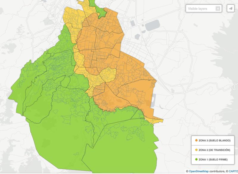 Conoce las zonas de la CDMX con menor riesgo sísmico - zonas-cdmx-riesgo-sismico-1-800x586