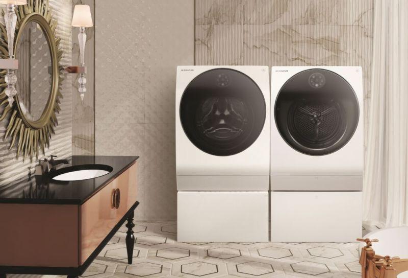 IFA 2018: LG presentará la extensión de su línea ultra premium LG SIGNATURE - 2018-lg-signature-washer-dryer-800x544