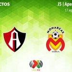 Atlas vs Morelia, J5 del Apertura 2018 ¡En vivo por internet!